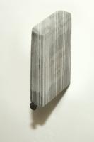 45 Grad, 2010, 3,5 x 4,8 x 1 cm, Laserdrucke, Leim